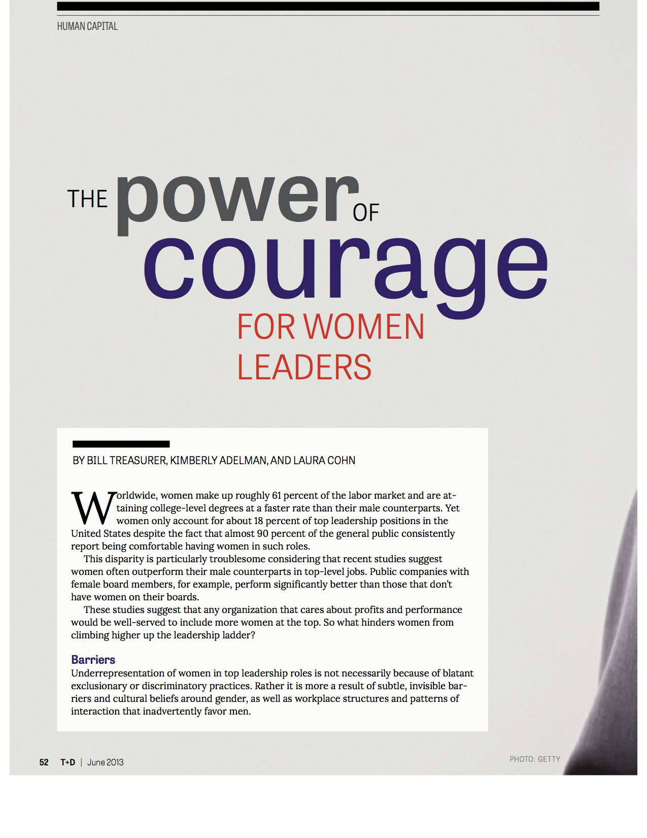 The Power of Courage for Women Leaders