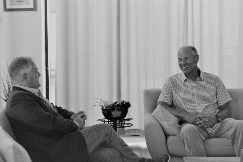 Bill Treasurer and John Havlik discussing The Leadership Killer.