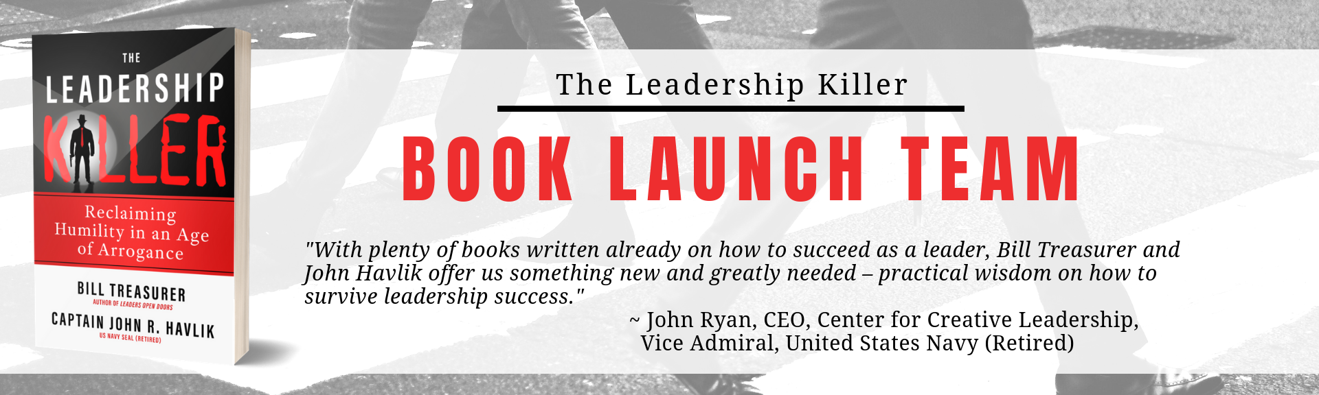 John Perkins - Leadership Killer Launch Team