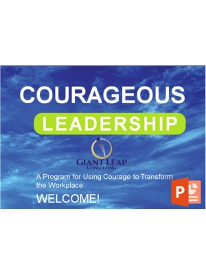 Courageous Leadership  Workshop